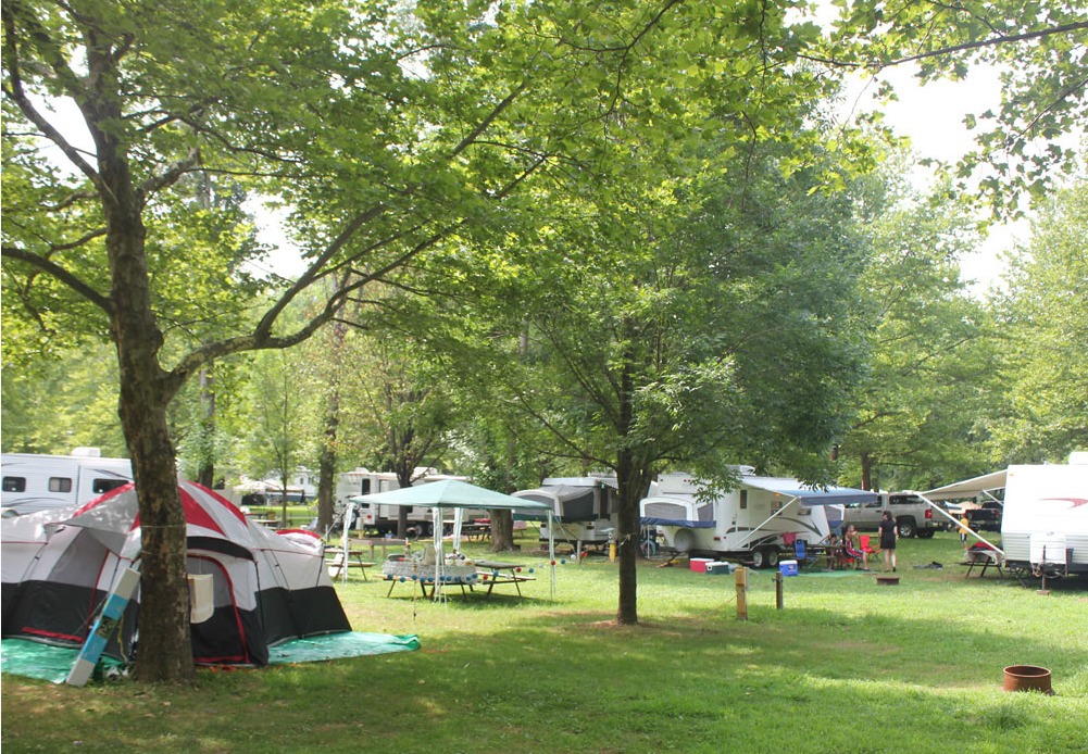 Delaware river family campground find campgrounds near for Nearby campgrounds with cabins