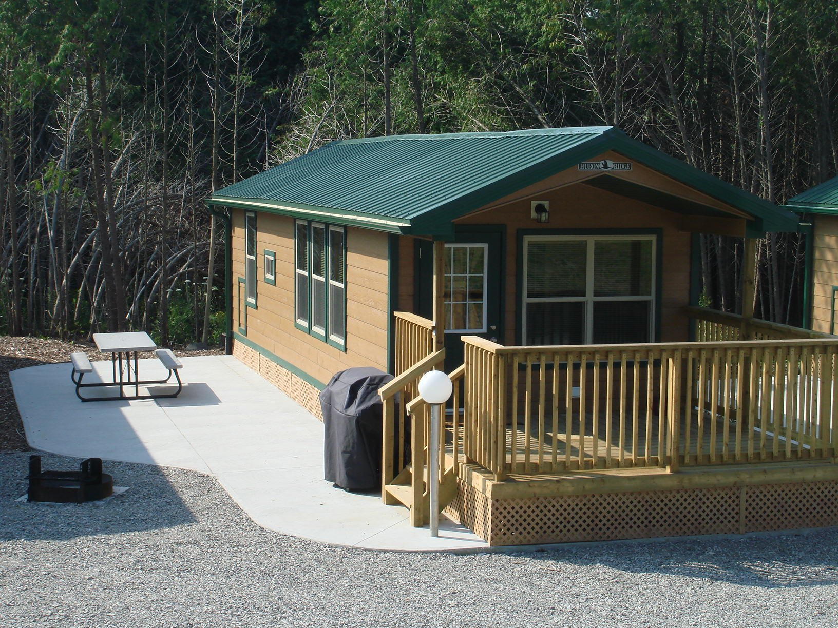 Barrie koa campground find campgrounds near springwater for Nearby campgrounds with cabins