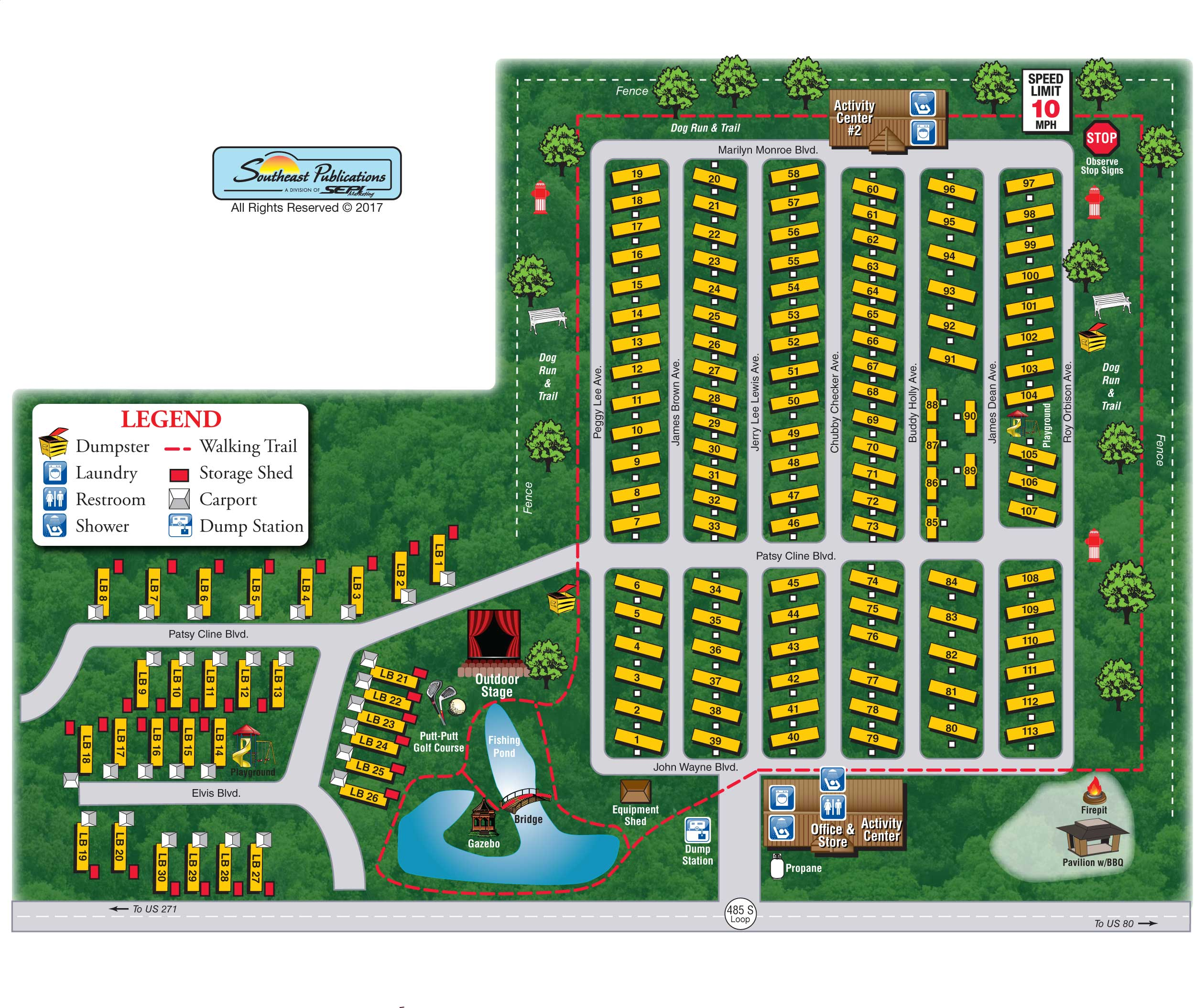 View Resort MapResort Map