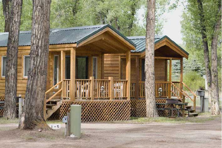 Tall texan rv park cabins find campgrounds near for Nearby campgrounds with cabins