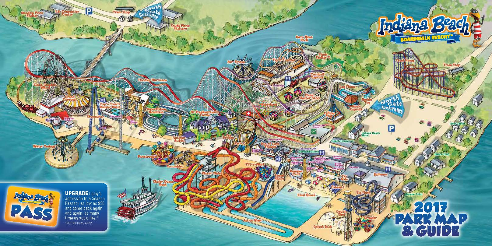 Indiana Beach Water Park Indiana Beach Amusement Resort