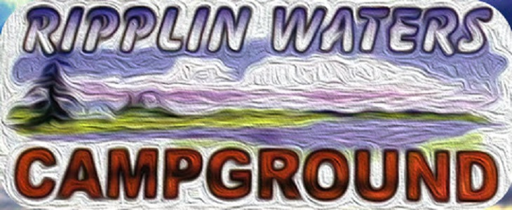 Ripplin' Waters Campground Logo