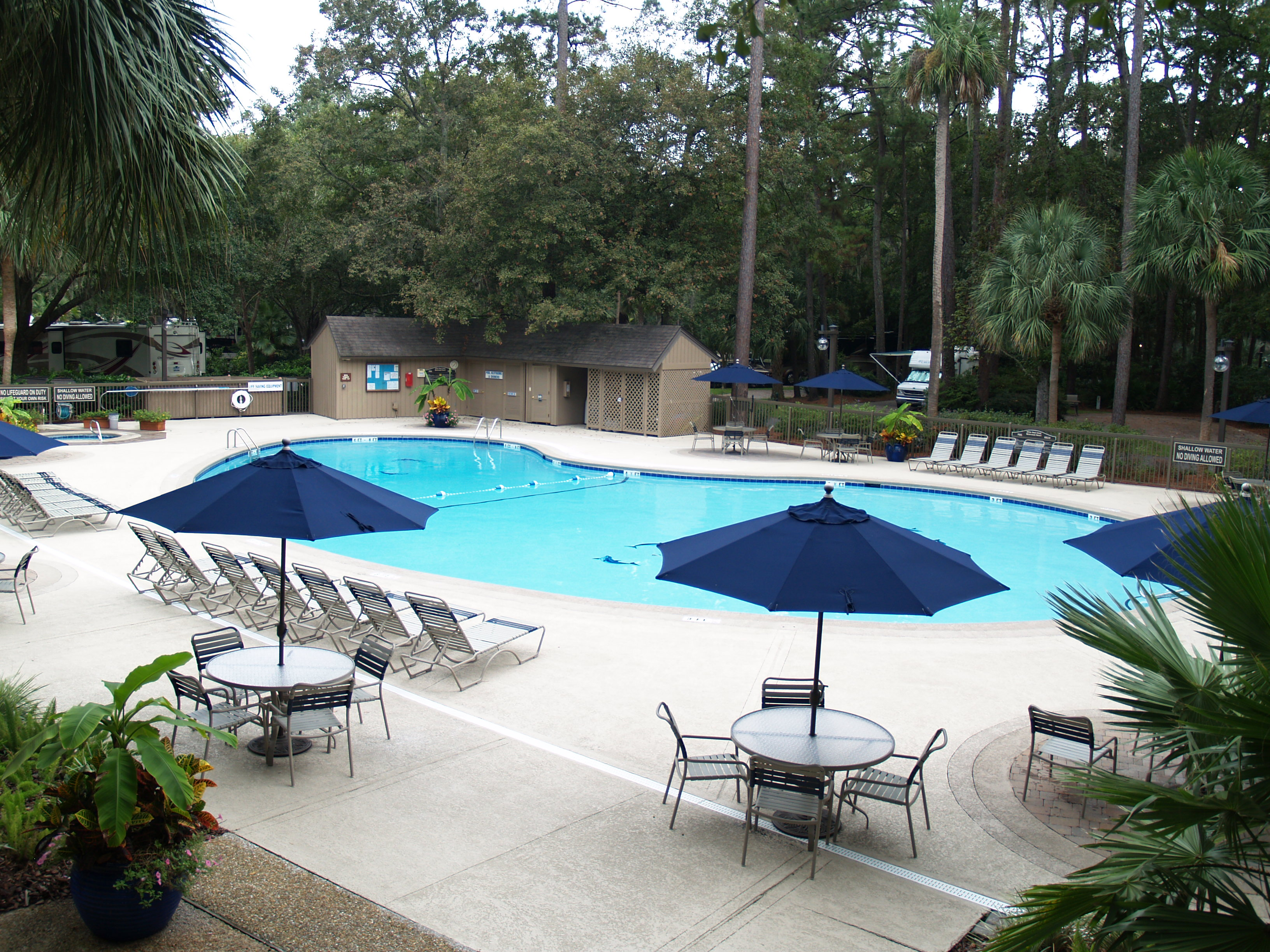 hilton head island motorcoach resort find campgrounds near