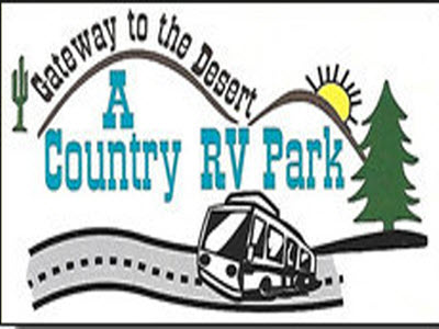 A Country RV Park Logo