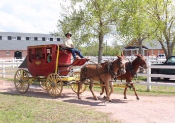 Stage Coaches Are Available To The Public For A Stroll Through The Park [Courtesy/Fort Robinson State Park]