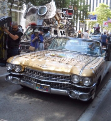 The Art Car Parade Occurs Annually On The Streets Of Houston, Texas [Courtesy/Art Car Museum]