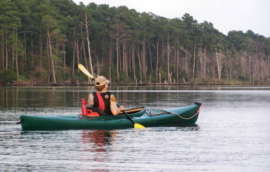 Kayaking Through The Peaceful Waters [Photo Credit: Virginia State Park]