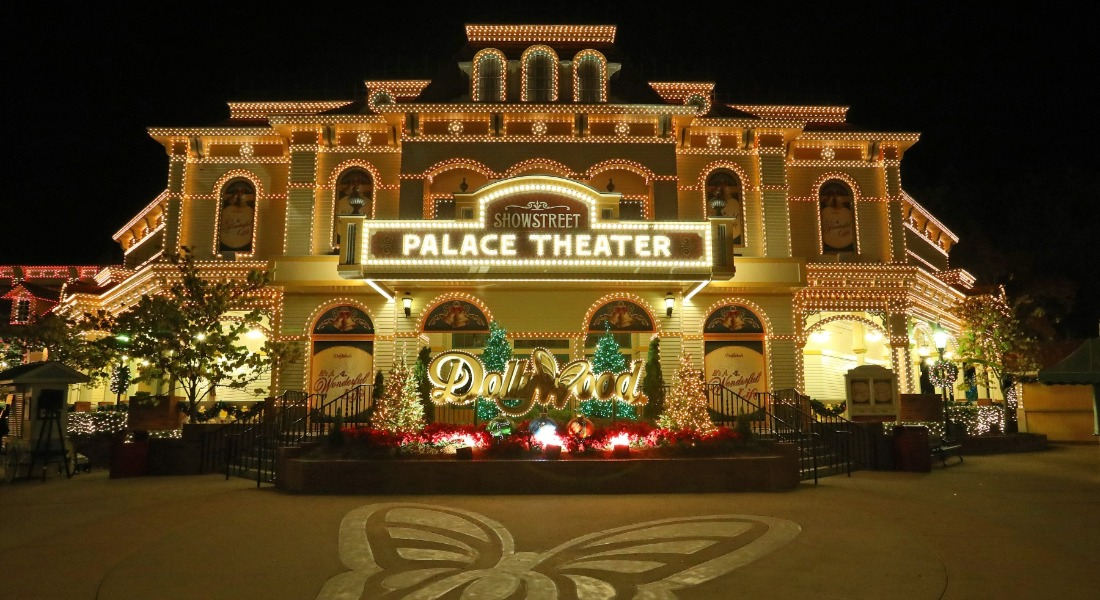 Parade of many colors at the Dollywood Palace Theater [Photo Credit: Dollywood]