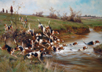 """Crossing The Brook"" Art At Pebble Hill Plantation [Courtesy/Pebble Hill Plantation]"