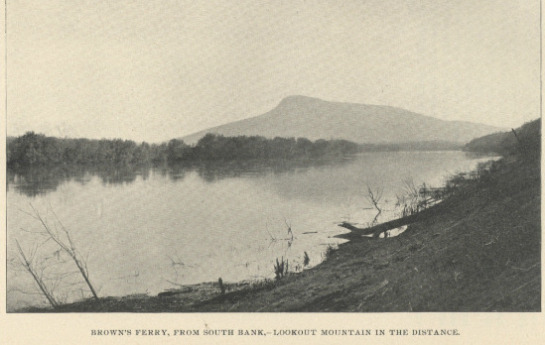 Historical Photo Of Brown's Ferry [Tennessee]