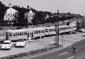 The Rapid Transit At Drexmore Station In Shaker Heights [Courtesy/Wikimedia Commons]