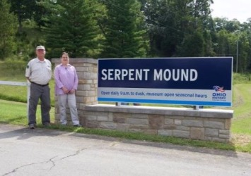 Tim Goodwin, Park Manager For Serpent Mound & Arc of Appalachia [Courtesy: Serpent Mound]