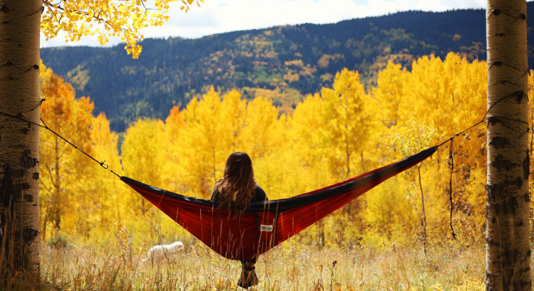 Beautiful Nature And Relaxation With The Trek Hammock [Courtesy/Trek Light Gear]
