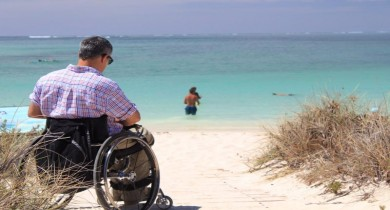 Image for News Blip: Wheelchair Expedition