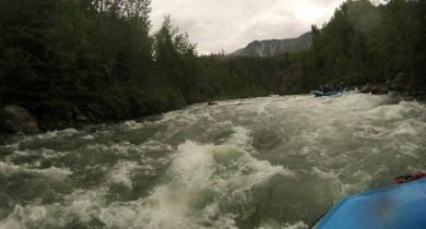 Surviving Whitewater In The Yukon