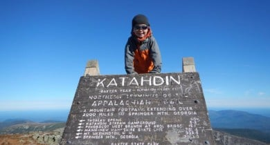 Image for News Blip: Backpacking Youngster Makes History