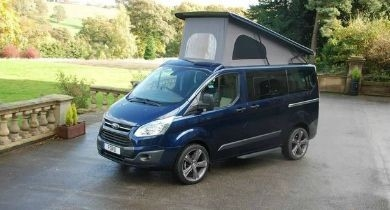 Image for News Blip: Ford Terrier Campervan Debuts In Europe