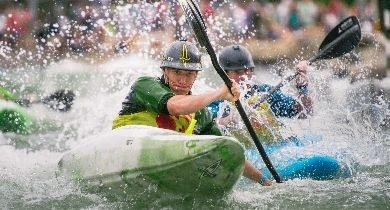 Image for A Man Made Adventure: U.S. National Whitewater Center [North Carolina]