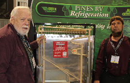 The Texture Of Cool: Pines RV Refrigeration [RVIA National RV Show- Louisville, Kentucky]